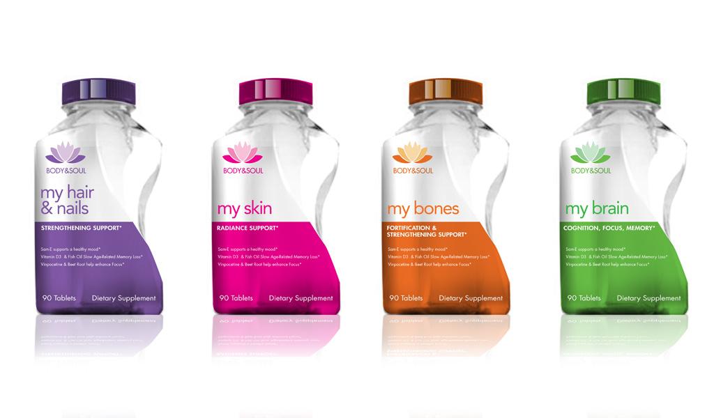 Product Label Design Concepts for Body + Soul - Diseu00f1o ...